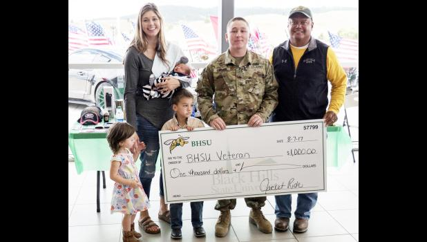 Steven Edoff was recently honored