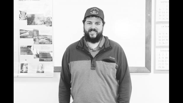 Jed Kammerer, the new District Conservationist for the Jackson County Conservation District (JCCD)