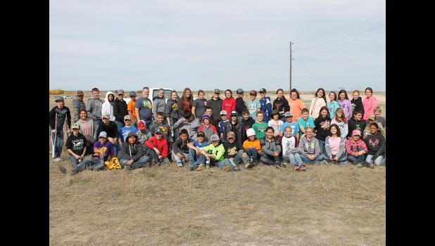 2017 Youth Range Day field trip seventh graders.