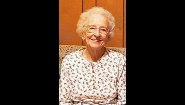 Lova Mary Bushnell, age 98