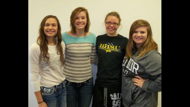 Julianna Kari, Jenna Kari, Sara Hatle and Maudie Lee were named to the Little Moreau Conference All Conference Teams.