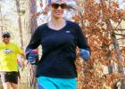 Tina Scott is currently dedicating a series of trail runs to her buddy, Brooke.